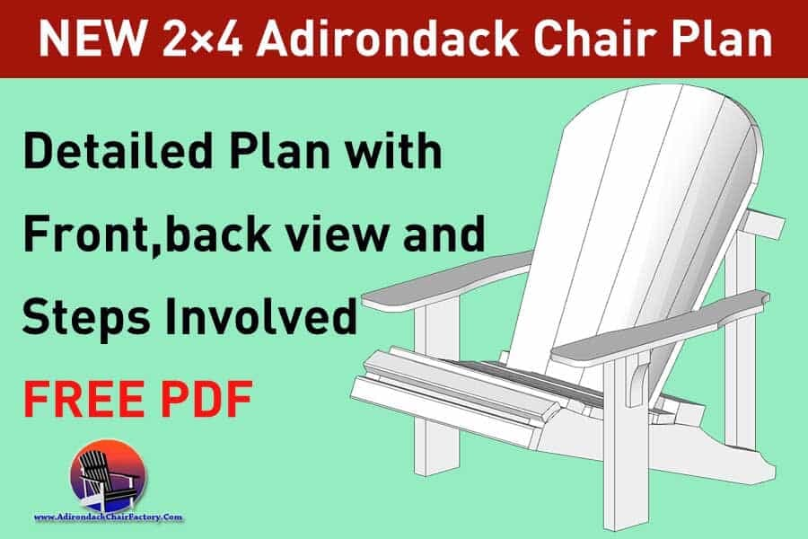 Strange 2X4 Adirondack Chair Plans Free Diy Guide To Build Your Complete Home Design Collection Papxelindsey Bellcom