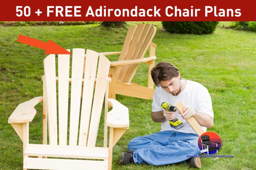 50 Free Adirondack Chair Plans You Can Diy Today Adirondack