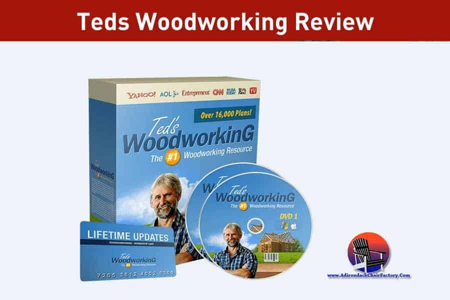 Teds Woodworking Review (16,000 Woodworking Plans): Worth It?