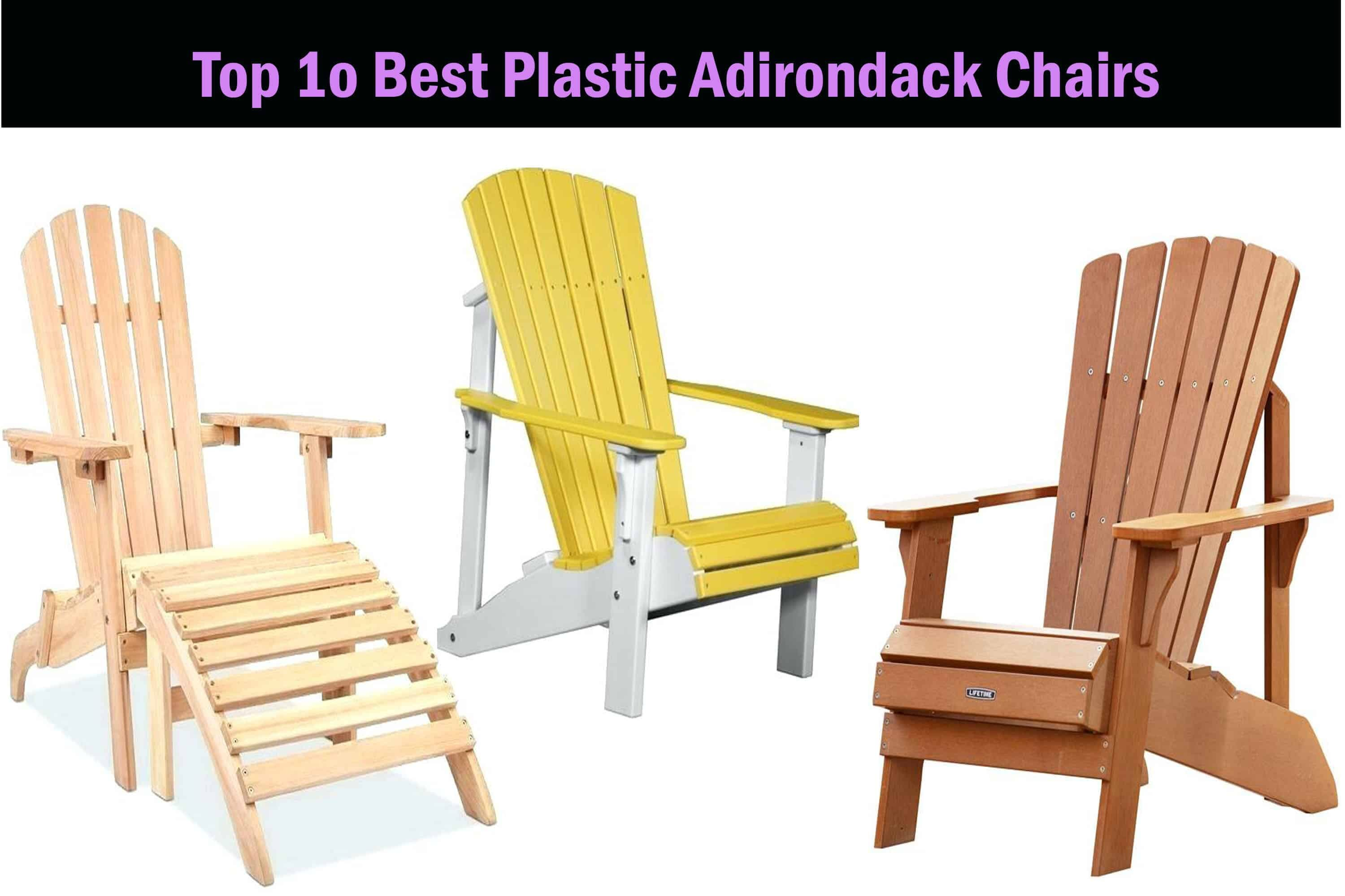 best plastic adirondack chair