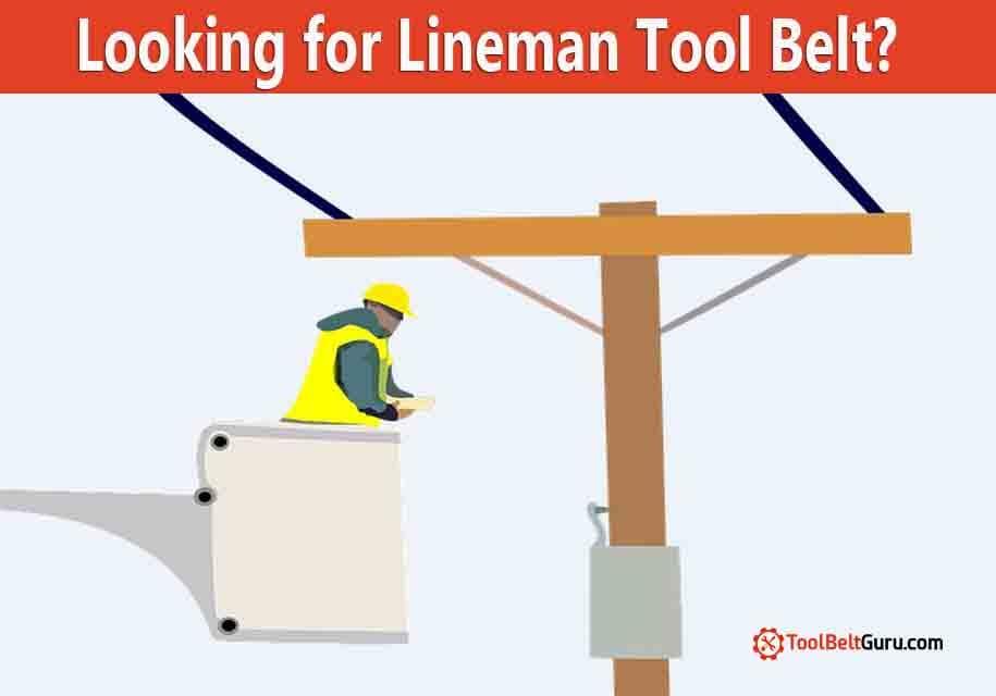 lineman electrician tool belt