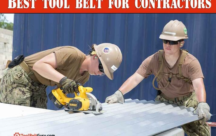 Best tool belt for contractors