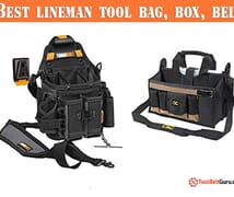 Best lineman tool bag belt box