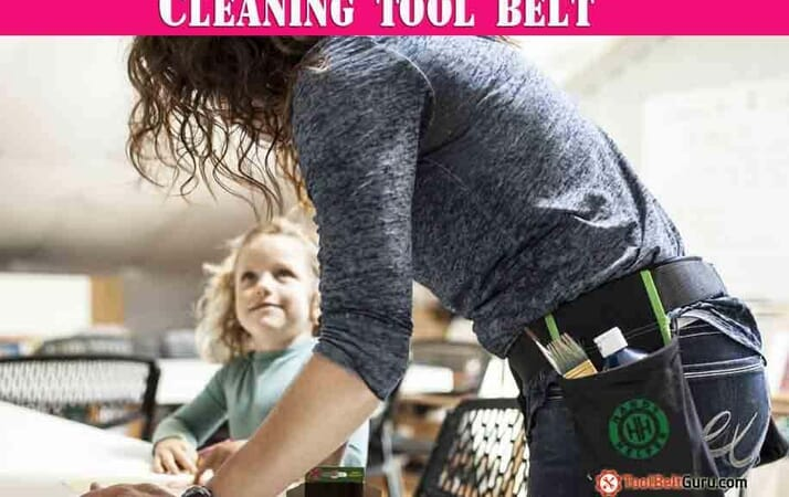 cleaning tool belt