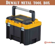 Dewalt metal tool box review