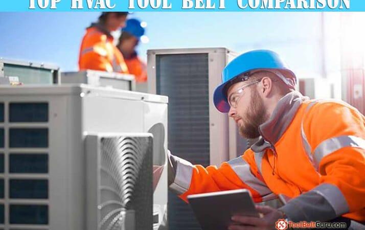 hvac technician installer tool belt